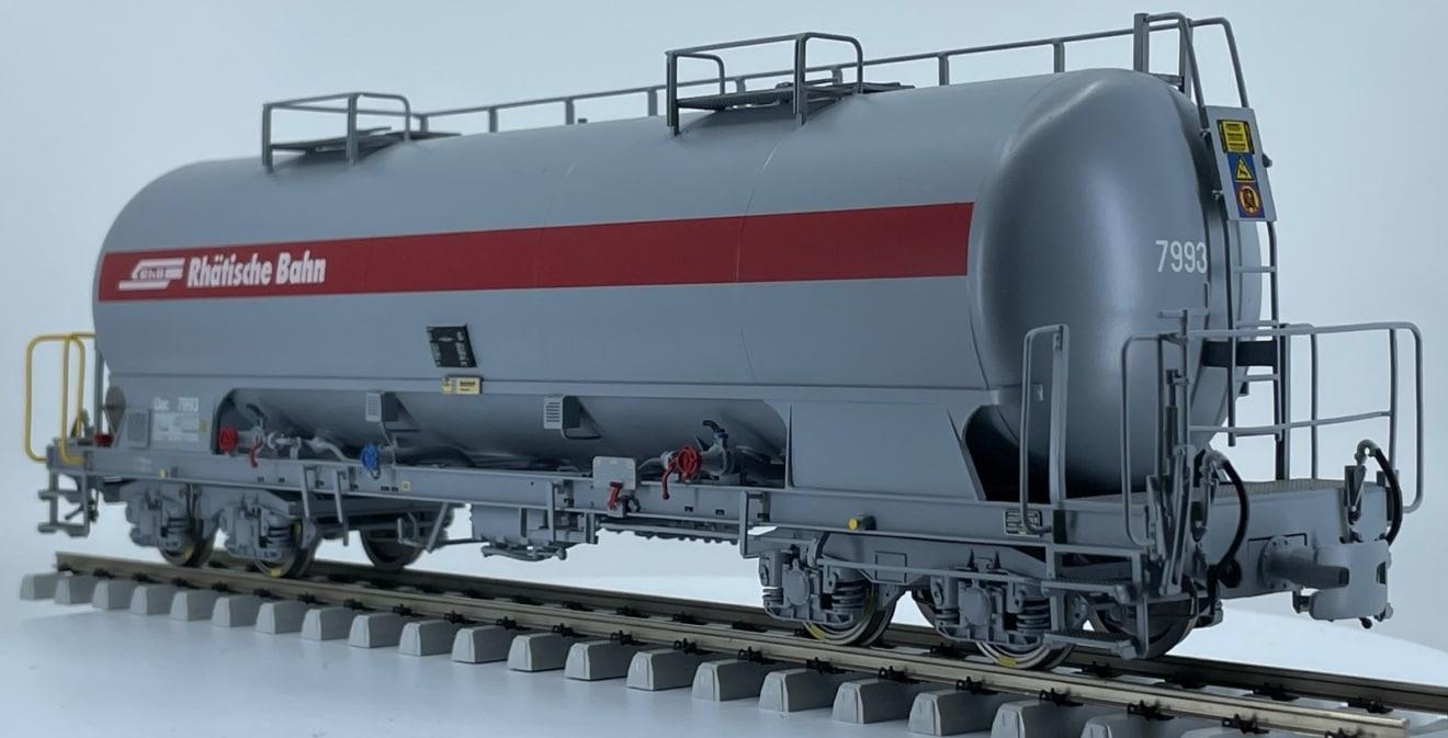 RhB Vierachs Zementwagen Uac (e)